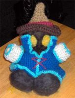 .:Black Mage Plushie:. by MoonWhing