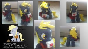 Filly Derpy Custom by Funkentanz