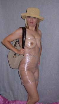 see-through shopping fashion by naked2hobby