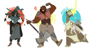 The Adventure Zone by mellow-monsters