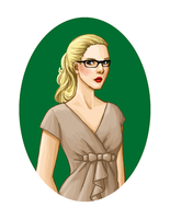 Felicity Smoak by bechedor79