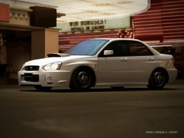 Modified Subaru WRX Impreza by PlymouthHarrison