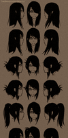 Hairstyles by TheShadowedGrim