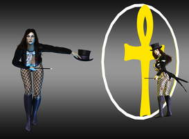 Injustice: Gods Among Us: Zatanna by iK1L73r