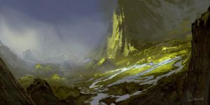 Speed Paint 27- Valley by AnthonyDevine