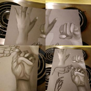 Hand Studies by awesomestarz