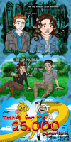 25000 pageviews: Twilight Hunger Games Adventure T by OdieFarber