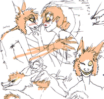 Sunshine Dirge preview doodles by rabidroach