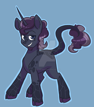 Patreon Commission - Cracked Obsidian! by Twisted-Sketch
