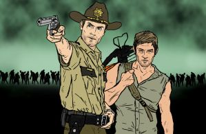 Rick and Daryl by NiteOwl94
