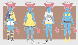 Faith Pufftail :: Wardrobe by Chickadee-chii