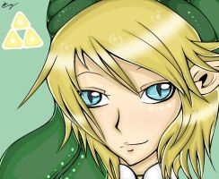 Link - Skyward Sword by BakuchanBaku