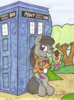Octavia And The Doctor by sorasarah212