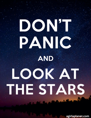 Don't Panic and Look at the stars by Paloma182