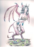 Katey Perry WoW Succubus by TheChrispy1