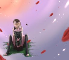 Never Bloom Again.colored bg by drathe