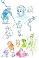 RotG sketches by kemiobsesses