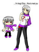 Adopted OC: Asagi Ohno (with small bio) by RatsuTerra48