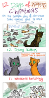 12 Days of Warriors Christmas by katribou