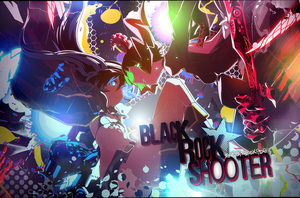 Wallpaper Black Rock Shooter [Collab with Oxide] by Yumijii