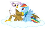 Guilda and Dashie by 123kennix