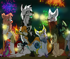 Happy New Year by Blackwolfpaw