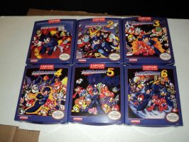 Mega Man Nes Collection Front by vladictivo