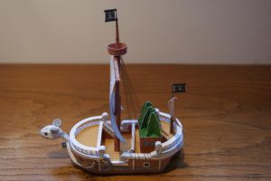Going Merry Papercraft by 6bits