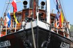 Old Steamship in Flensburg , Germany by boundfighter