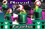 Naval Piranha clay figurine by All-shall-fade