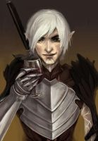 Fenris, Dragon Age 2 by amiima