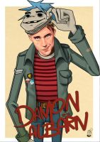 Damon Albarn - 2D by MZ09