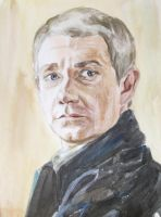 Martin Freeman as Dr. John Watson 5 by Greencat85