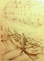 Venice sketch by Lilaccu