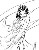Lois Lane Inks by JamesLeeStone