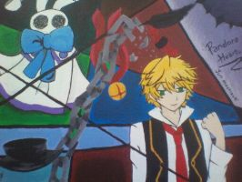 Pandora Hearts Painting by candy-spazz-tabby