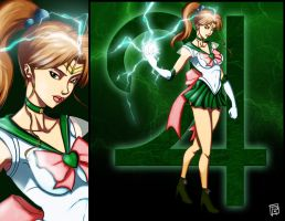Sailor Jupiter by Bathiel