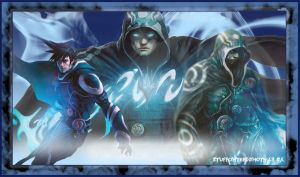 Blue Mage Play Mat. by Highlander0423