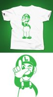 L is for Luigi by TheCuraga