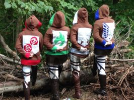 SnK Hoodies - Midoricon Preview by Weeaboo-Warehouse