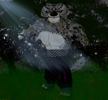 Tai Lung at Night by imago3d