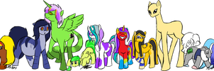 My Many Little Ponies by Ziratoni