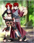 GAARA and OC forever love by BR-ONYX-STUDIOS