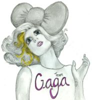 I am Team Gaga. by MidnightPeace