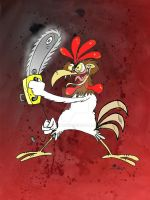 Homicidal Rooster by Granitoons