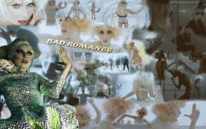 Bad Romance Wallpaper 2 by PuppetMistress666