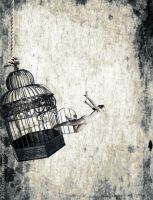 I Am Free.. by Aymen-Ouertani