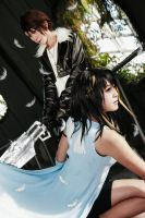 Final Fantasy VIII - Rinoa x Squall by Xeno-Photography