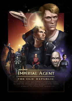 SWTOR Imperial Agent Poster by KaraNan