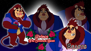 Beasts Wallpaper 3 - Prince Beast by BennytheBeast